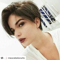 "1,909 Likes, 24 Comments - Cabelos pixie (@pixiebrasil) on Instagram: ""@breelouise_xox via @cabelocurto"""