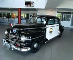 1947 Plymouth – This vehicle was once confiscated from a local drug dealer and turned over to the Glendale Police Department in Glendale, Arizona. It was restored and is used in special events....