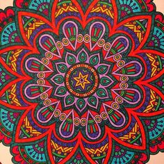 #mulpix Mandala colouring.  #adultcolouring  #adultcoloringbook  #mandala  #colour  #colouring