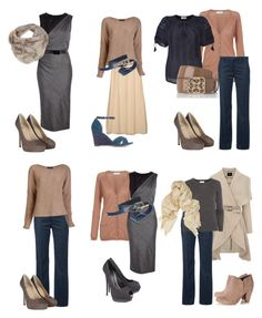"""soft seasons basic colors"" by sabira-amira ❤ liked on Polyvore featuring Sportmax, Miss Selfridge, Paul & Joe, AllSaints, Golden Goose, Closed, L.K.Bennett, Jenni Kayne, The Row and nette'. leather goods."