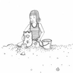 #SketchySunday by My Quiet Adventures - Picture Books for Highly Sensitive Children