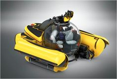 If you're escaping on a yacht make sure one of these awesome personal submarine is on board! c-explorer-3-submersible-3.jpg