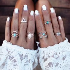 San Sebastian Bikini|Poolside Ring | Bohemian Bardot| My Heart's Infinity | Imaginary set | Black sands set | Azure set| Belly Chain Rings – Turquoise Vibe | Tara midi | Aquila | C…