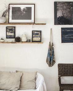 my little gallery wall #artstudio #collage