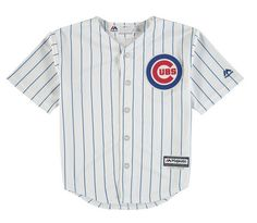 CHICAGO CUBS HOME CHILD COOL BASE REPLICA BLANK JERSEY BY MAJESTIC #ChicagoCubs #Cubs #CubsFans #GoCubs #Chicago