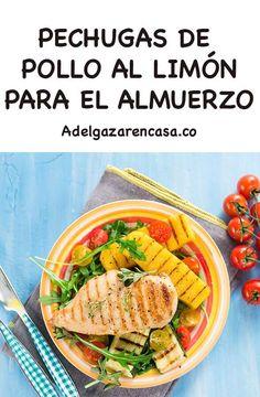 5 recetas de almuerzos para adelgazar - Adelgazar en casa Lose Weight, Cooking Recipes, Fitness, Food, Exercise, Home, Food Menu, Healthy Food, Cook