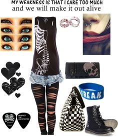 """Papa Roach"" by karli-amaro ❤ liked on Polyvore"