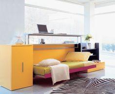 Minimalist Schlafzimmer   1001 Haus Deko Ideen. Cabrio In Klappbett