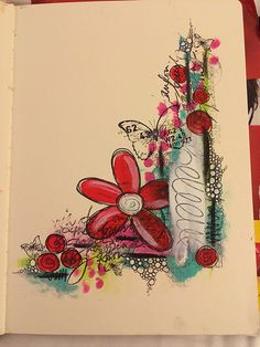 Quick art journal page | Flickr - Photo Sharing!