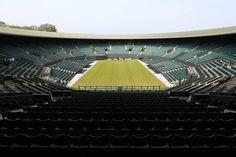 No.1 Court basking in the spring sun at SW19 #Wimbledon #Wimbledon2015