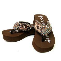 4951cc34a67d Gypsy Soule Mia Embellished Flip Flops  269.95