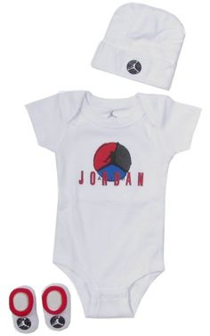 Amazon.com: Jordan Baby Clothes Retro Air Jordan VIII Set for Baby Boys and Girls (One Size 0-6 Months) Black, 0-6 Months: Clothing