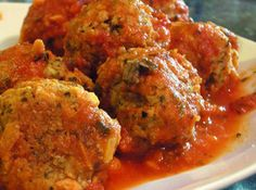 Absolute Best Italian Meatballs - pork, Italian sausage, pancetta, GF bread crumbs, parsley, oregano, fennel, red pepper flakes, salt, basil, parmesean, ricotta and eggs. Use your hands to mix until the ingredients are evenly distributed. Don't over-work.      3Preheat oven to 425°F.