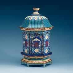A CHINESE ENAMEL ON COPPER LANTERN/CENSER, FIRST HALF OF 20TH CENTURY.