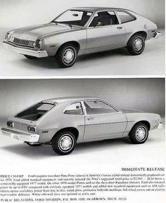 Ford Pinto circa 1978 - I can't stop laughing!