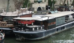 houseboat paris