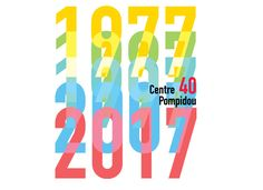 40 ans, 40 villes : le programme alléchant du Centre Pompidou pour 2017 ! Centre Pompidou, Love Art, Company Logo, Graphic Design, Logos, Expositions, Communication, Image, 40 Rocks