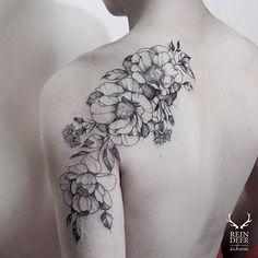 남자분이라 조금 거친 느낌으로 Tattoo shared by zihwa_tattooer