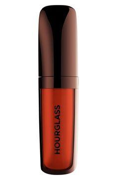 Hourglass Opaque Rouge Liquid Lipstick in Riviera