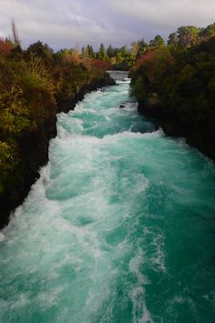 Craters of the Moon and Huka Falls near Taupo, New Zealand — Deviating the Norm