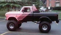 Pretty bad ass paint job. It would look better with a different color then pink
