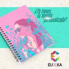 Agendas y cuadernos personalizados, ideales para darle un hermoso detalle a tus clientes ó amigos.  Eureka, ¡más diseño, más alegría! Tel. 325 5278 / 314 790 8139 Pereira