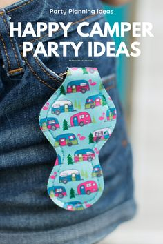 Happy Camper birthday party ideas will make party planning a snap!  Simple DIY party decorations and party food recipes for a cute retro camper party.  If you are planning a glamping party, a camping bachelorette or a camper party.  Make a DIY retro camper pinata or camping cookies.  A fun birthday party theme for kids & adults.  Camper party favors & a DIY tent will complete your party decor.  Unique birthday party theme for your next kids party.  Retro RV keychain party favors and… Retro Rv, Retro Campers, Vintage Campers, Vintage Trailers, Camper Trailers, Travel Trailers, Kids Party Themes, Birthday Party Themes, Party Ideas