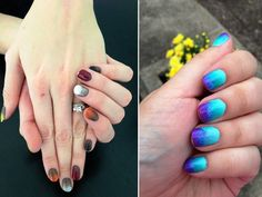 Ombre Nail Art Colour Trend Collection
