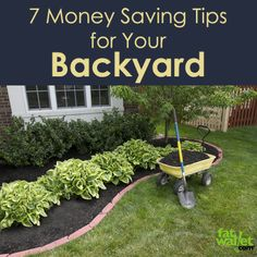 Saving money this spring with your backyard! Here are some ideas that will make you environmentally friendly, keep some cash in your pocket, and make for a fun hobby.  Shared from FatWallet.com