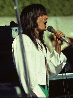 Steve Perry of Journey...Departure era---I believe this was at the Summer Jam at the Coliseum, L.A. July1980---cuz I was there!