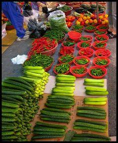 Street market in Seoul, Korea