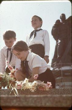 Berlin, Treptower Park, Junge Pioniere, 60er Jahre