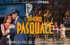 In this modern production from director Chuck Hudson set in the golden era of Hollywood, Don Pasquale is an aging silent film star at the sunset of his career. Our protagonist sets off to find a wife and heir to his fortune. He gets hitched to the devious Norina, a widowed gold digger who conspires with Ernesto, the Don's nephew. Supported by a chorus of servants dressed as Hollywood film stars, Don Pasquale is an uproarious evening of theater. #Atlanta #Opera