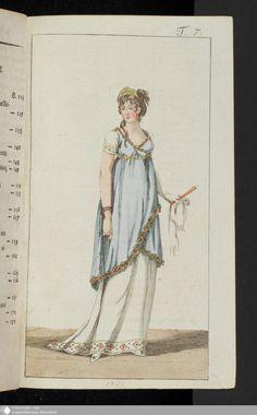 191 - Abschnitt - Journal des Luxus und der Moden - Page - Digitale Sammlungen - Digital Collections