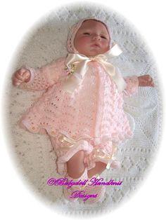 FREE Lacy Rainbows 15-20 inch doll/newborn baby-lacy rainbows, eyelet lace