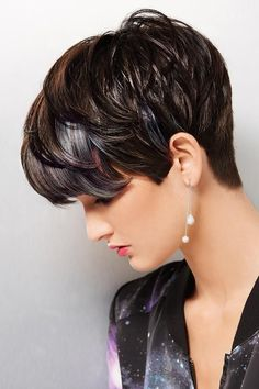 -women-short-wigs-brown-blonde-highlights-Fluffy-hair-wigs-with-bangs ...