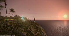 FFXIV - uno dei meravigliosi tramonti di Eorzea - con Rosina Stellina