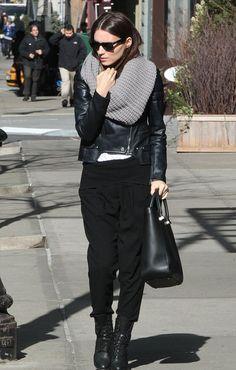 Fashionista e atriz , Rooney Mara investe em oversized