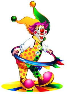 "Photo from album ""Цирк"" on Yandex. Clown Party, Halloween Clown, Vintage Halloween, Fork Bow, Halloween Clipart Free, Harlequin Mask, Clown Crafts, Clown Tattoo, Cute Clown"