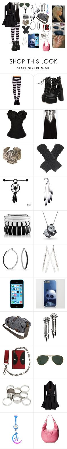 """Singing <3"" by gatorgurl91 ❤ liked on Polyvore featuring WithChic, Alkemie, Anni Jürgenson, Bling Jewelry, Rodarte, VIPARO, Ben-Amun, Marvel, Ray-Ban and Missguided"