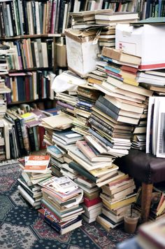 Ideally, libraries should be an orderly mess.