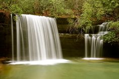 Caney Creek Falls in Bankhead National Forest AL by Ann Bjerring Ravn Weis -  Click on the image to enlarge.
