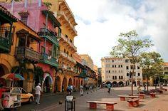 Cartagena de Indias. Plaza de los coches.
