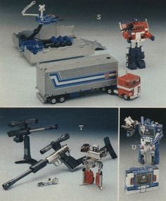 Optimus Prime, Megatron and Soundwave 1980s Toys, Retro Toys, Vintage Toys, Childhood Toys, Childhood Memories, Toys R Us Kids, Toy Catalogs, Transformers Masterpiece, Old School Toys