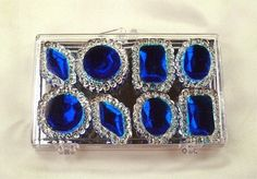 Sapphire Blue Edible Jewels for Cakes