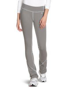 Oakley Women's Runner Pant Oakley. $56.95. Black has black lycra spandex for no shine when stretched. Smooth waistband helps eliminate muffin top. Wicking and anti bacterial properties enhance performance. 31 inch inseam. Low rise fitted through the hip with a straight slim leg for a long lean look. 90% Supplex Nylon/10% Lycra. Machine Wash