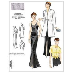 Buy Vogue Women's Dress & Jacket Sewing Pattern, 2859A Online at johnlewis.com