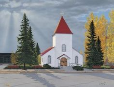 The RCMP Chapel in Regina, SK, where my parents were married almost 40 years ago. Cool Countries, Countries Of The World, Best Places To Live, Places To Visit, Saskatchewan Canada, The Province, Big Sky, Canada Travel, Capital City