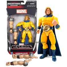 "Hasbro Year 2015 Marvel Legends Infinite Series 7"" Tall Action Figure - Avenging Allies Marvel's SENTRY with The Allfather's 1 Pair of Arm"