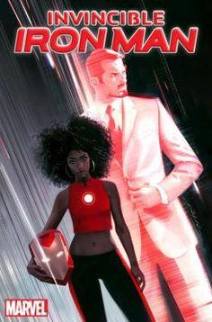 Portada con la nueva Iron Man, Riri Williams
